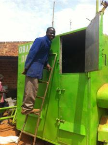 Maize dryer. Photo: IFPRI