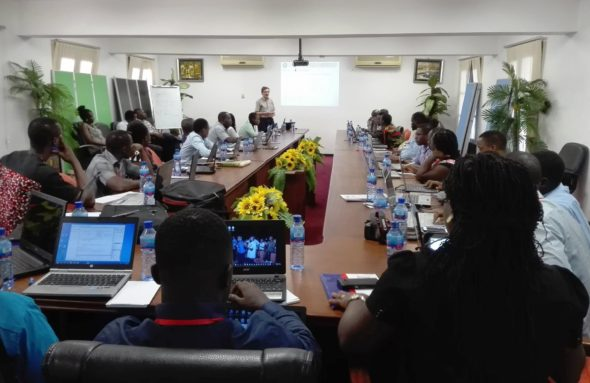 FoodAfrica training in Ghana what is a value chain how to analyse market data agriculture agricultural markets by Jarkko Niemi Natural Resources institute Finland Luke.